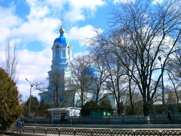 Саки церковь